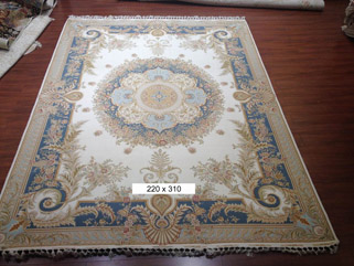 Top Wool Silk Rug